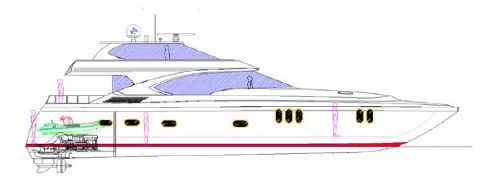 2016 Newport Offshore Sky Lounge Profile