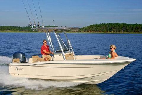 2016 Scout Boats 195 Sportfish Stock Image 195 Sportfish Scout