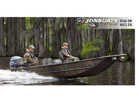 2015 G3 Gator Tough Jon 1548 DK Break-Up