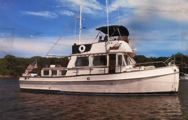 Trawler new and used boats for sale in maine for Motor yachts for sale near me