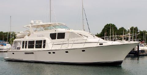 2001 Pacific Mariner 65 Pilothouse Voyager