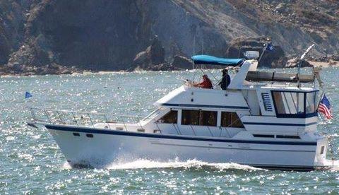 1986 Jefferson Hershine 42 Sundeck Motor Yacht Profile