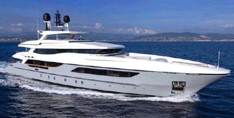2015 Baglietto 46 m Luxury Motor Super Yacht