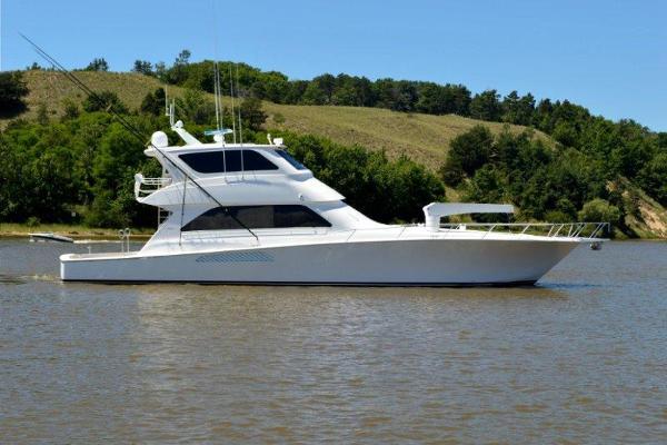 2005 Viking Yachts 74 Enclosed Bridge Convertible