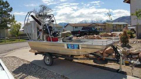 2014 Hydroslide mini airboat 12 Wet Nymph 2014 Hydroslide 12 Wet Nymph for sale in Magna, UT