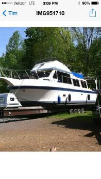 1979 Bluewater 40' Coastal Cruiser