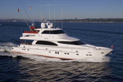 2007 Horizon Skylounge Cockpit Motor Yacht