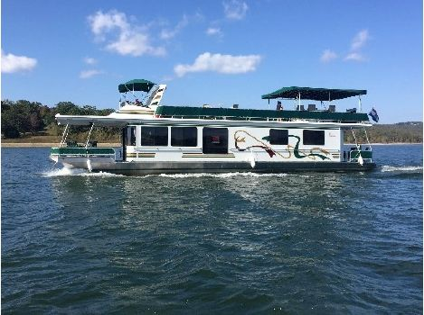 2001 Sunstar Houseboat