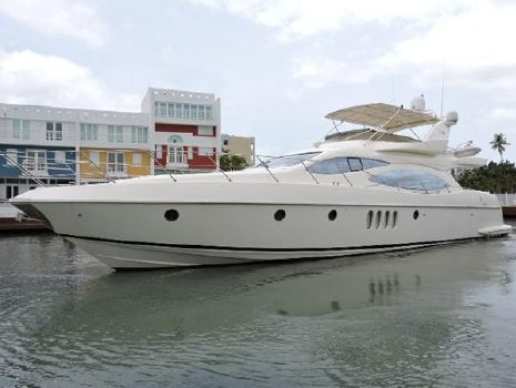 2003 Azimut 68 Plus Port View