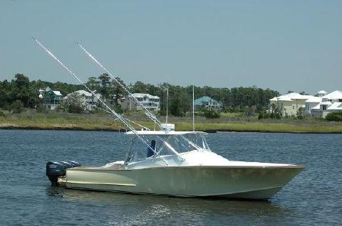 2010 Custom 34 Custom Express Fisherman