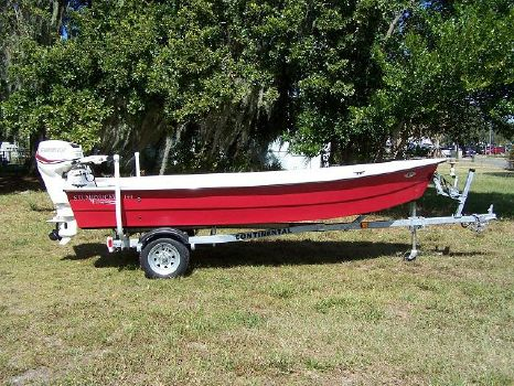 2015 Stumpnocker 144 Sports Skiff Tiller