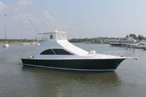 1997 Ocean Yachts Super Sport Main Profile