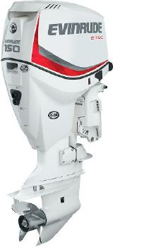 2017 EVINRUDE Twin 150 Hp.