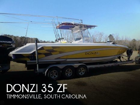 2004 Donzi 35 Zf 2004 Donzi 35 ZF for sale in Timmonsville, SC