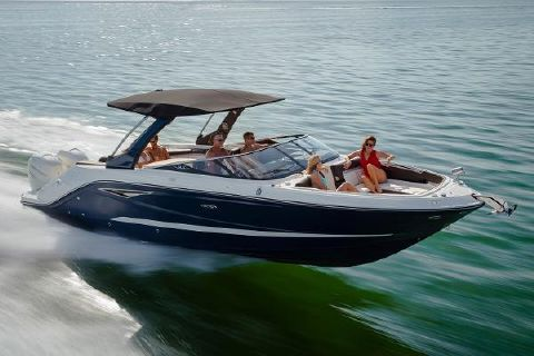 2017 Sea Ray SLX 310 OB Manufacturer Provided Image