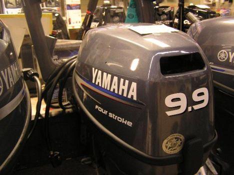 2011 Yamaha F9.9msh