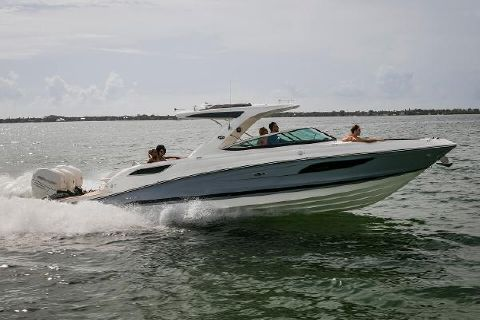 2017 Sea Ray SLX 350 OB Manufacturer Provided Image