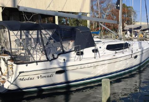 2011 Hunter 45 Deck Salon Modus Viventi