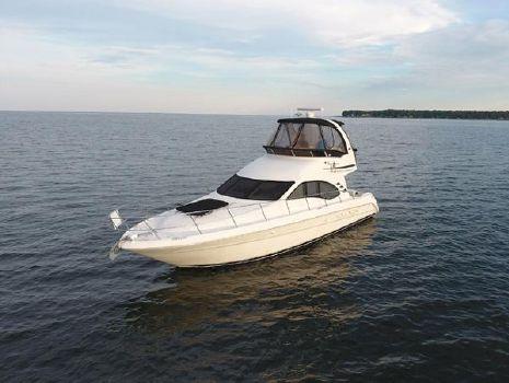 2004 Sea Ray 420 Sedan Bridge Profile