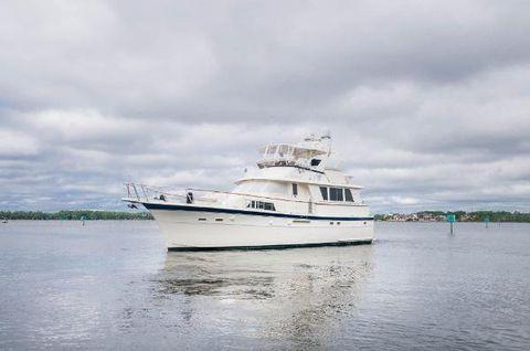 1984 Hatteras 53 Motoryacht Port Profile