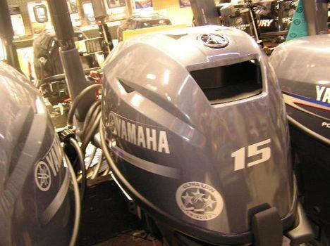 2013 Yamaha F15SMH