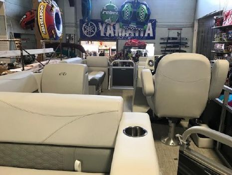 2018 AVALON Venture Cruise Rear Bench Sterling