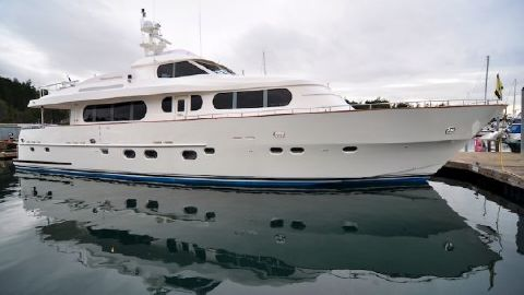 2002 Grand Harbour Motor Yacht Profile