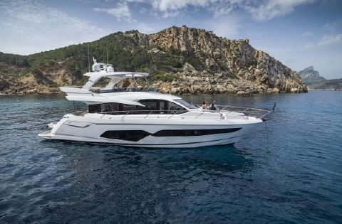 2018 Sunseeker Manhattan 66 Manufacturer Provided Image: Sunseeker Manhattan 66