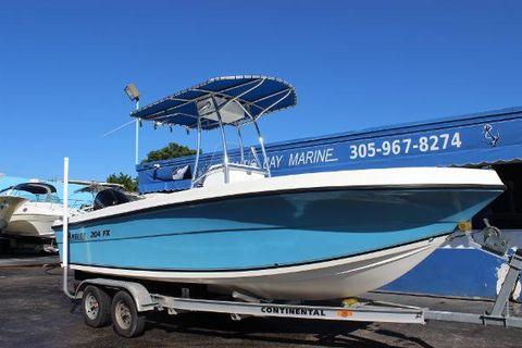 2013 Angler Boats 204 FX
