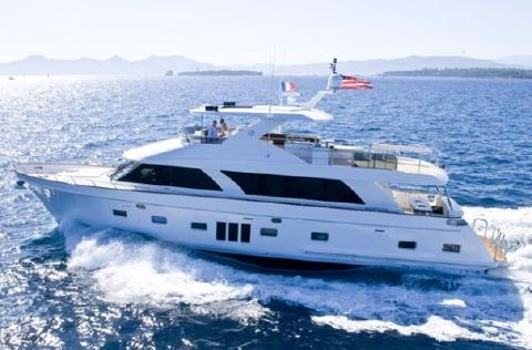 2017 Ocean Alexander 85 Motoryacht Manufacturer Provided Image