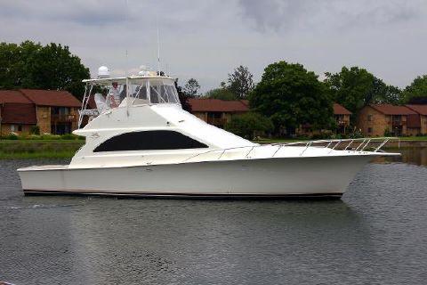 2002 Ocean Yachts 48 Super Sport Starboard Side