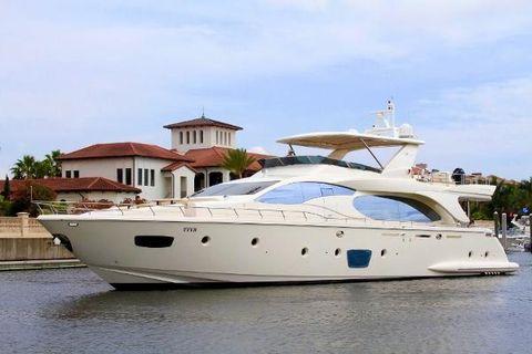2009 Azimut Motor Yacht Profile