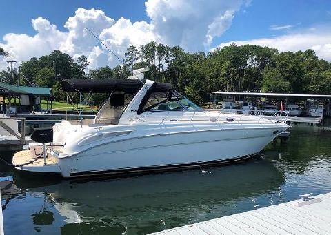 2003 Sea Ray 380 Sundancer STBD profile