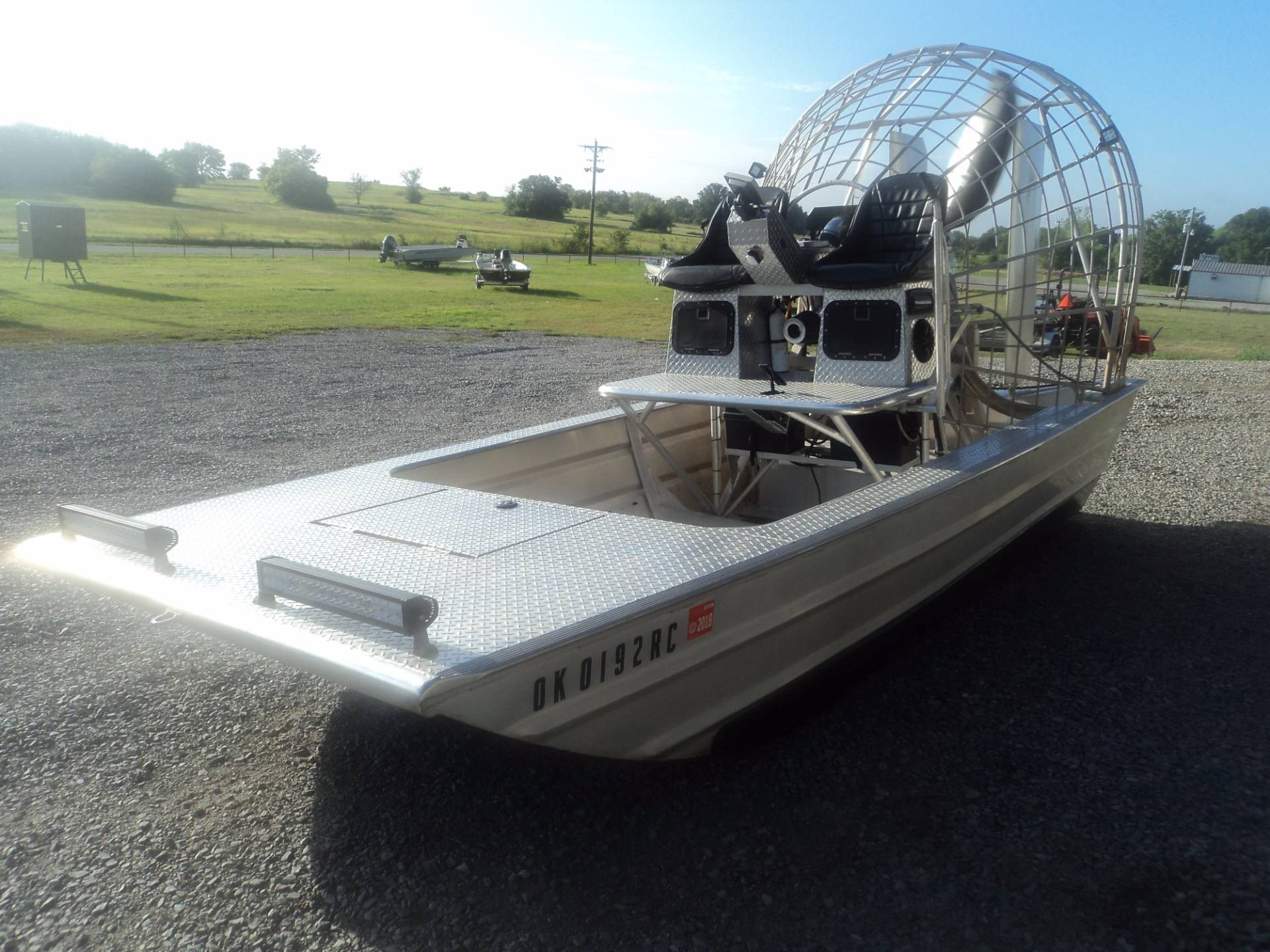 2012 Longhorn 16 X 5  AIRBOAT