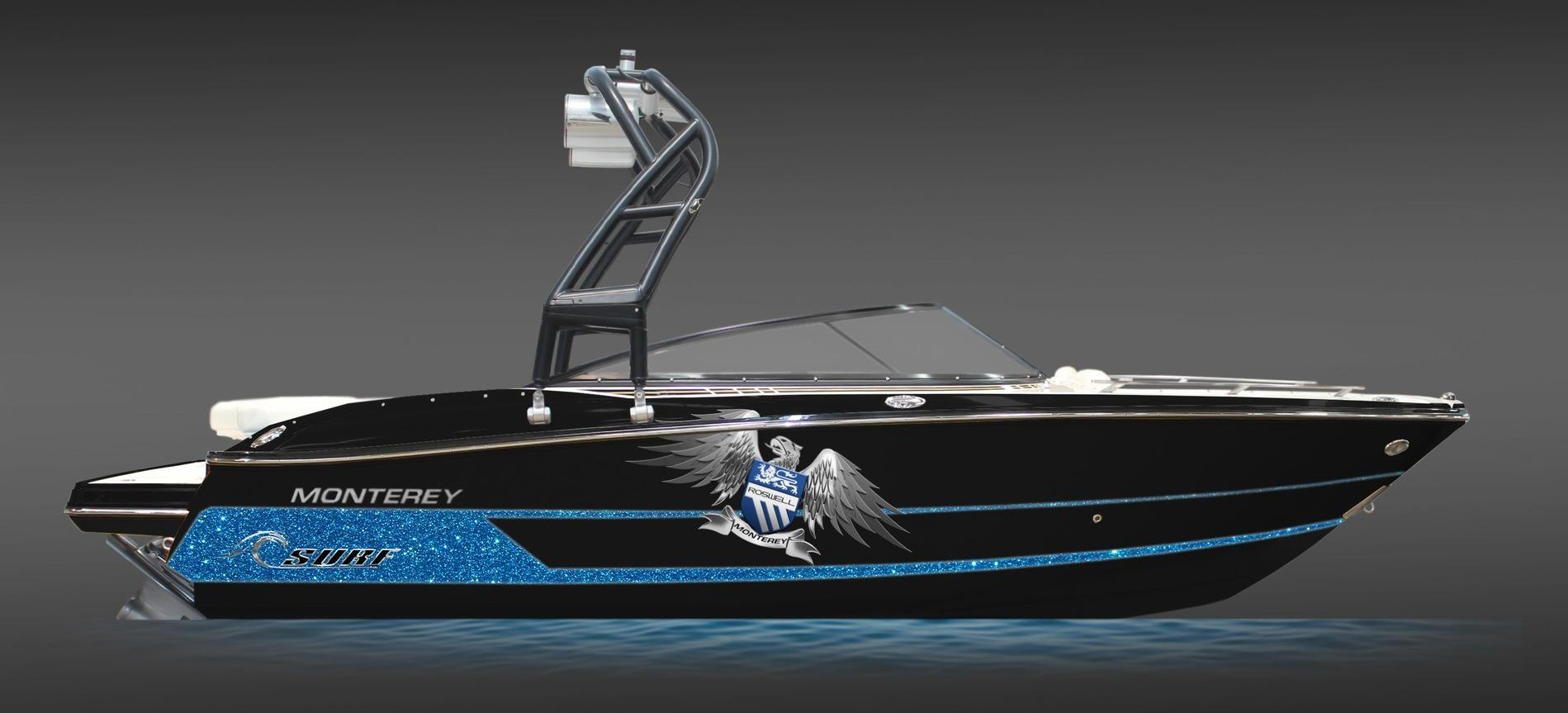 2016 Monterey 218ss Roswell Surf Edition