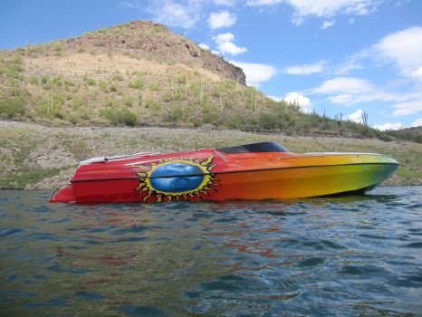 2002 Kachina Boats Force Open Bow