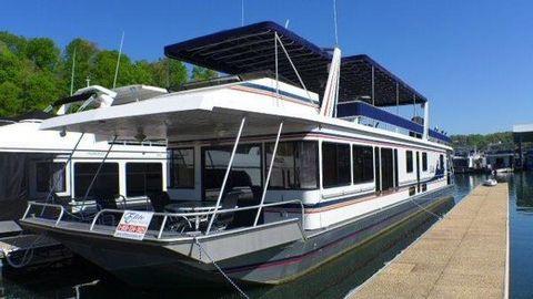 1996 Sunstar 18x93 Houseboat