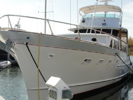 1970 Burger Flush Deck Motoryacht