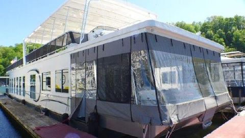 2009 THOROUGHBRED 18x86 Houseboat