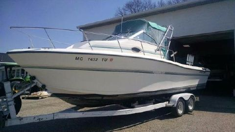 1995 Sportcraft 252 Fishmaster