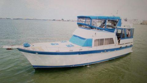 1984 Sea Ranger 46 Trawler Sundeck