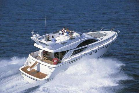 2004 Fairline Phantom 50 Starboard Quarter View
