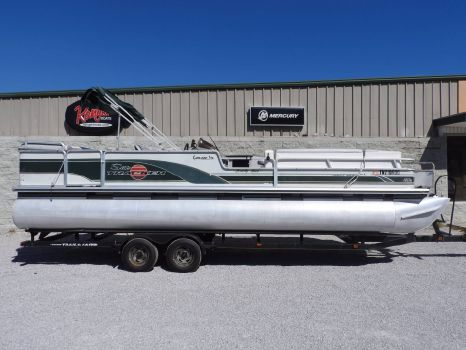 2000 Tracker Sun Tracker Party Barge 27