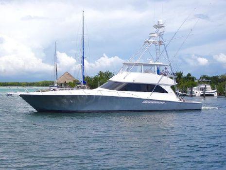 2007 Viking 74 Convertible Profile