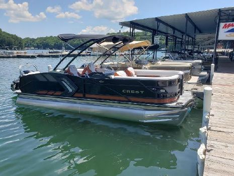 2021 CREST PONTOON BOATS Caribbean RS 230 SLC