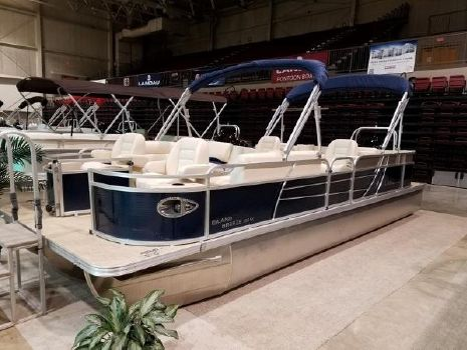 2018 Landau Island Breeze 252 Sport Cruise TRI-LOG