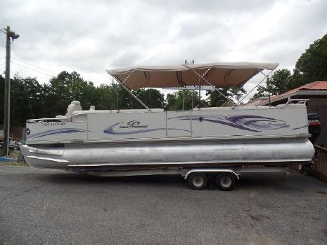 2007 Crest Pontoon Boats Savannah LSTX 27