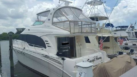 2001 Sea Ray Cockpit Motor Yacht Series 540