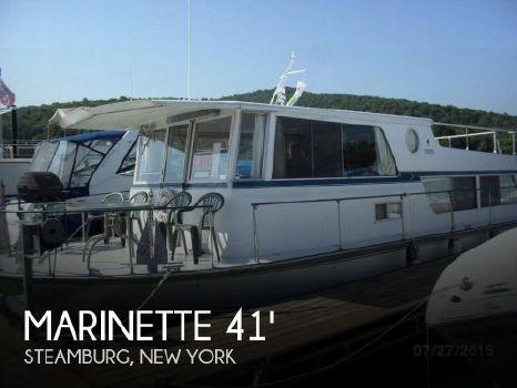 1972 Marinette Seacrest Executive 41
