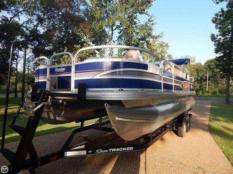 2015 Sun Tracker Fishin' Barge 22 DLX 2015 Sun Tracker Fishin' Barge 22 DLX for sale in Larue, TX